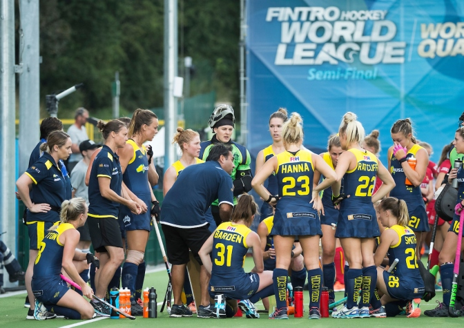 Hockeyroos Going To World Cup To Win It