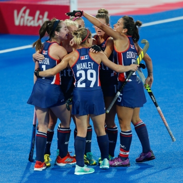 Vitality Hockey Women's World Cup 2018: England v USA