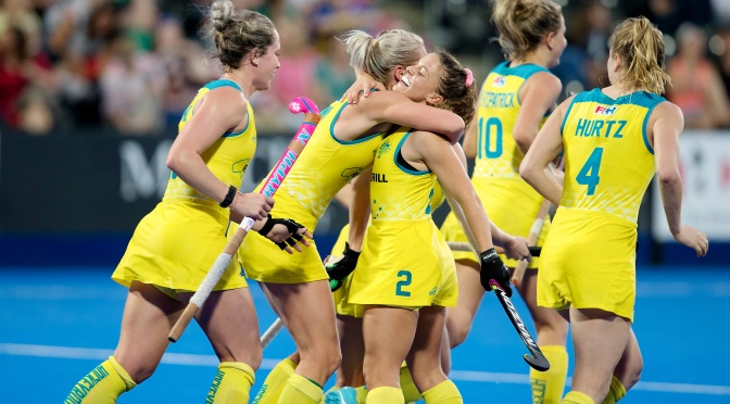 HOCKEYROOS OPEN 2018 WORLD CUP WITH HARD-FOUGHT WIN