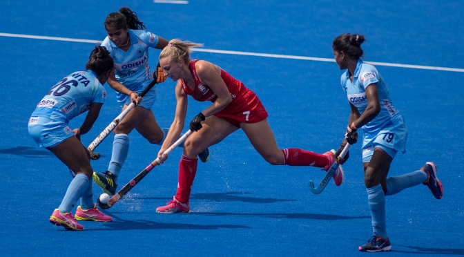 ENGLAND BATTLE BACK TO DRAW VITALITY HOCKEY WOMEN'S WORLD CUP OPENER WITH INDIA