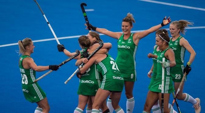 Ireland stun USA on opening day of Vitality Hockey Women's World Cup London 2018