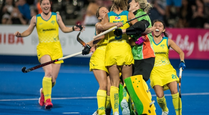 Hockeyroo's In To The Semi Final In Dramatic Fashion