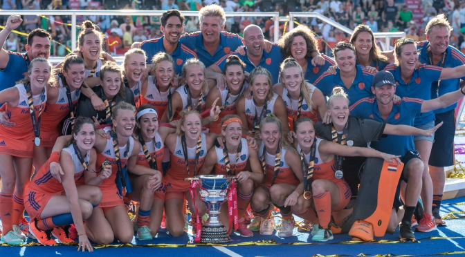 Netherlands storm to gold and records get re-written at Vitality Hockey Women's World Cup London 2018