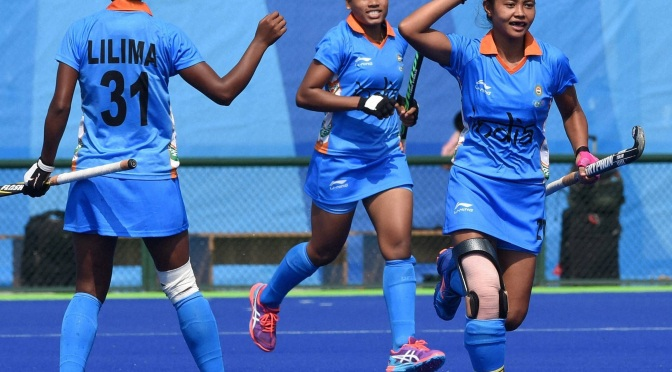 Comprehensive win for Indian women over holder Korea