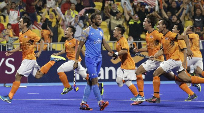 Kumar the hero as Malaysia stun India to reach final