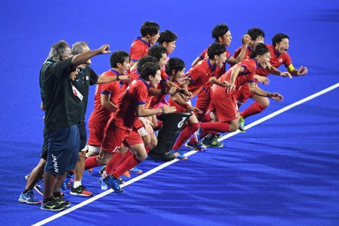 Japan men win gold in Jakarta