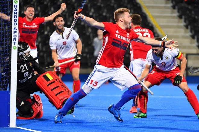 GREAT BRITAIN COME FROM BEHIND TO DEFEAT BELGIUM IN TOSHIBA TVS ANNIVERSARY INTERNATIONAL