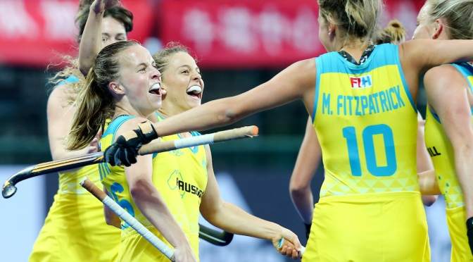 Hockeyroos Humbled By The World No.1