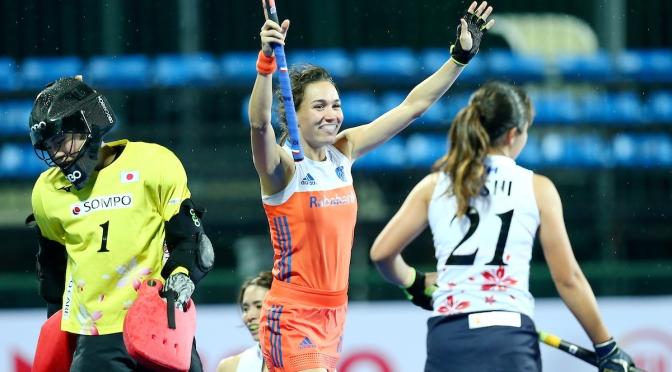 Australia and Netherlands get perfect start at FIH Women's Wanglibao Hockey Champions Trophy Changzhou Wujin 2018