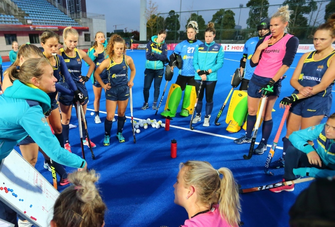 HOCKEYROOS HAPPY TO GO DOWN TO THE WIRE