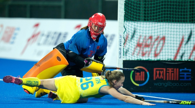 HOCKEYROOS DRAW BUT REMAIN IN POLE POSITION FOR FINAL