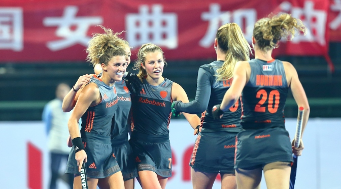Netherlands and Australia to contest the final of the FIH Wanglibao Hockey Champions Trophy Changzhou Wujin 2018