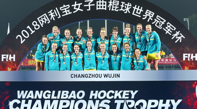 DELIGHTFUL DUTCH DOWN HOCKEYROOS IN CHAMPIONS TROPHY FINAL