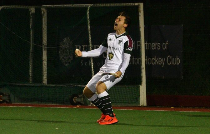 Beeston Pin Surbiton Back with 3 Goals in Three Minutes