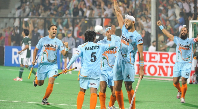 Hockey book: A peep into India's past and present