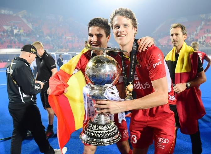 Belgium's Red Lions win Odisha Hockey Men's World Cup Bhubaneswar 2018