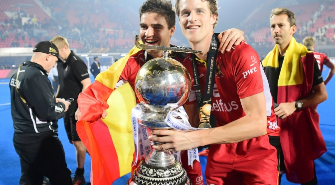 Belgium's Red Lions win Odisha Hockey Men's World Cup Bhubaneswar 2018
