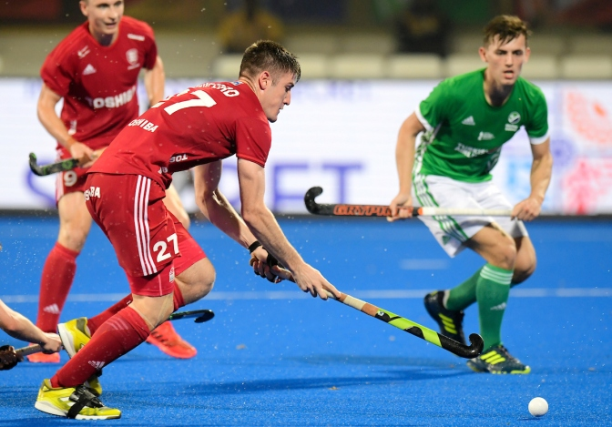 England and China finish second and third of Pool B on Day 10 of Odisha Hockey Men's World Cup Bhubaneswar 2018
