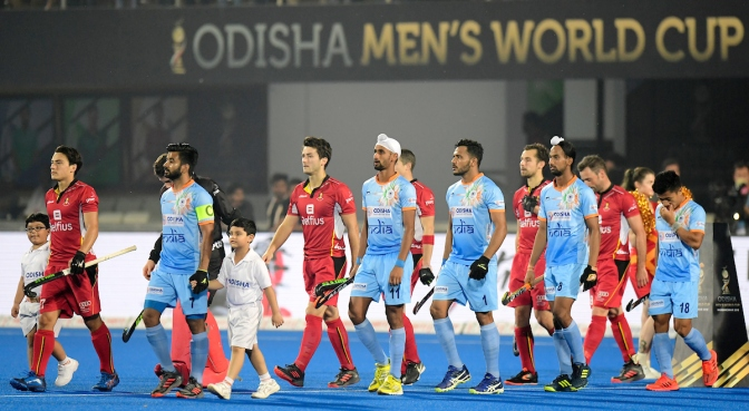 India and Belgium in thrilling draw on Day Five of Odisha Hockey Men's World Cup Bhubaneswar 2018