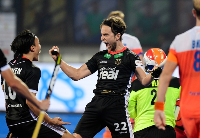 Netherlands stunned by Germany on Day 8 of Odisha Hockey Men's World Cup Bhubaneswar 2018