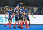 BHUBANESWAR Odisha Hockey Men's World Cup Argentina v France (Pool A) Foto: France scored a goal. WORLDSPORTPICS COPYRIGHT FRANK UIJLENBROEK