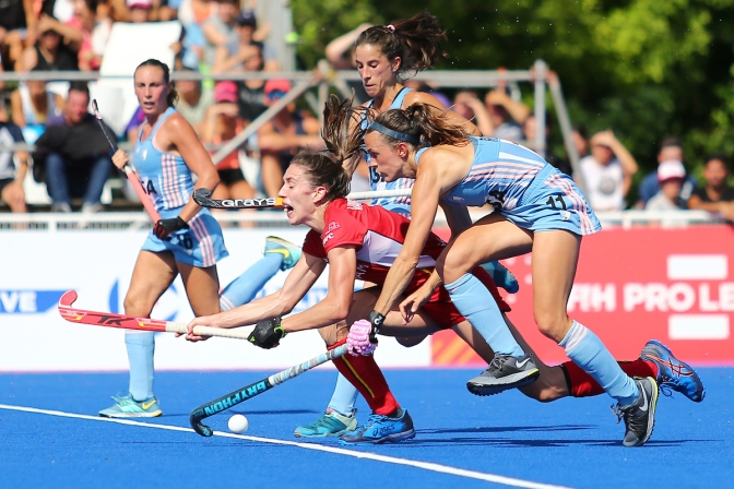 Las Leonas and Red Lions claim FIH Pro League victories in Argentina