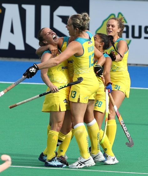 Australia v Germany - Women's FIH Field Hockey Pro League