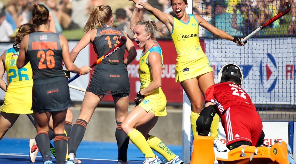 HOCKEYROOS END NEAR DECADE-LONG DUTCH DOMINANCE WITH BIG ...