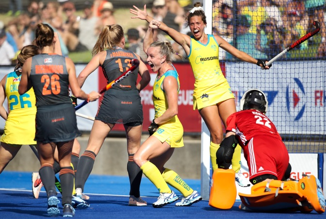 HOCKEYROOS END NEAR DECADE-LONG DUTCH DOMINANCE WITH BIG WIN
