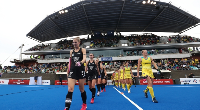 HOCKEYROOS FALL TO NEW ZEALAND IN SLIPPERY CONDITIONS
