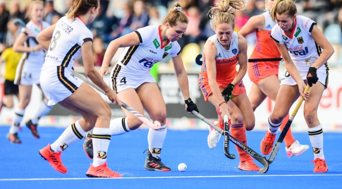 Double delight for Dutch against Germany teams in Mönchengladbach