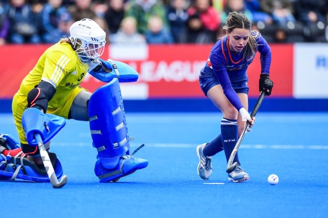 Great Britain women claim bonus point against USA in London