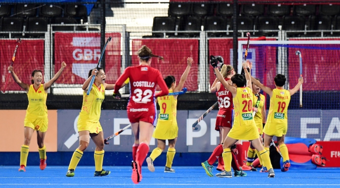 China claim impressive away victory over Great Britain in London