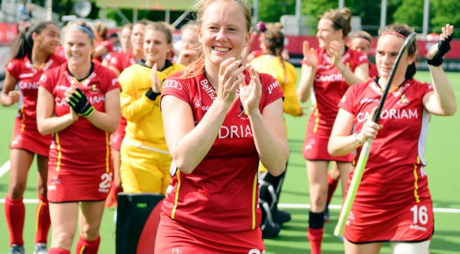 Belgium red Panthers tame the pride