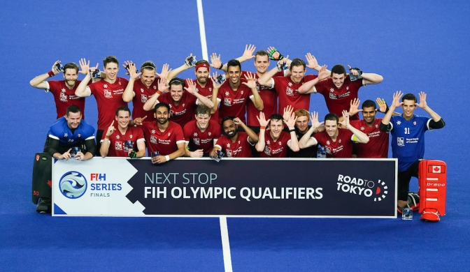Canada win FIH Series finals