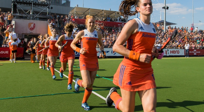 Netherlands take control against Great Britain in Eindhoven