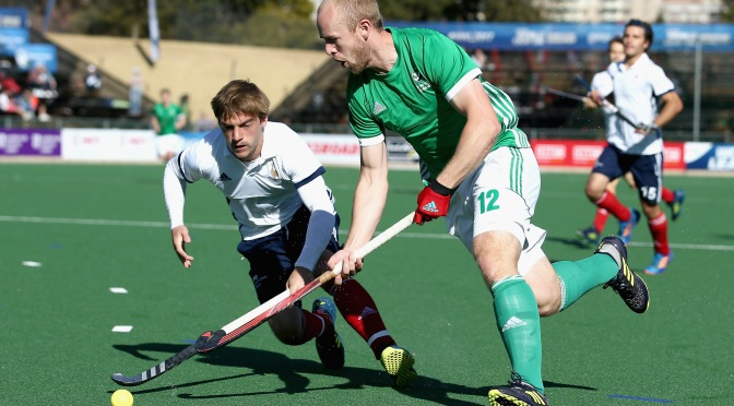 Ireland Senior Men Draw 1-1 with France in Lisnagarvey in first of Two-Match Series.