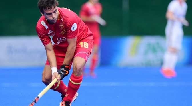 Spain men finally claim first win as Australia's Grand Final qualification put on hold