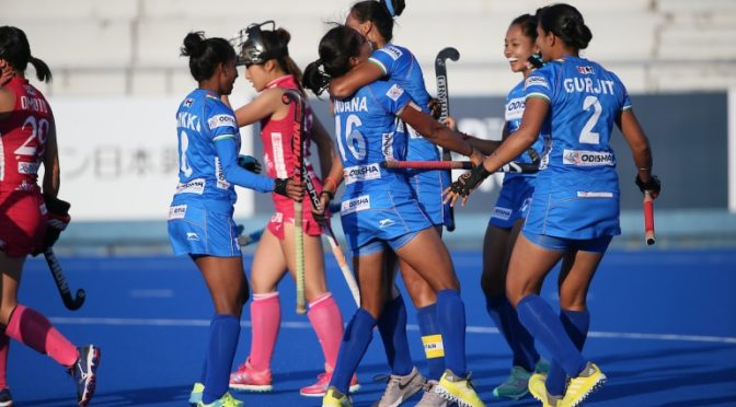 India win the FIH Series Finals Hiroshima after all-Asia clash with Japan