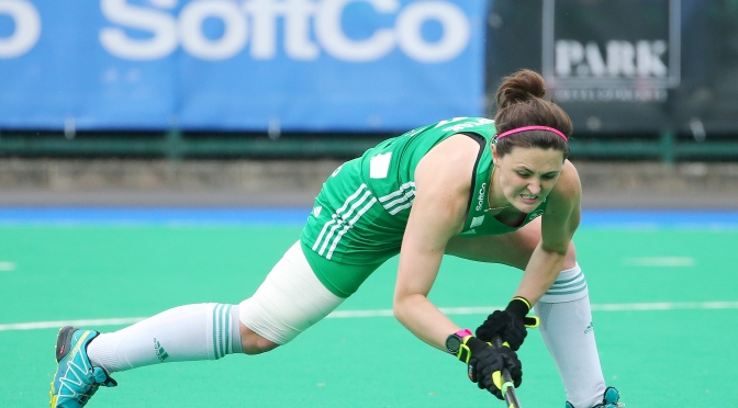 Irish Women dominate play in Havelock to secure Semi-final spot on Saturday.
