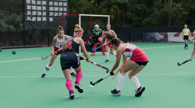 No. 2 Maryland field hockey makes light work of Indiana in 6-0 win