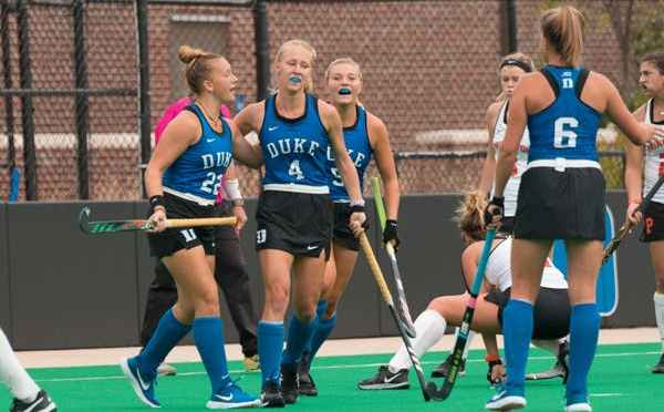 Duke field hockey gets back on track against pesky Wake Forest