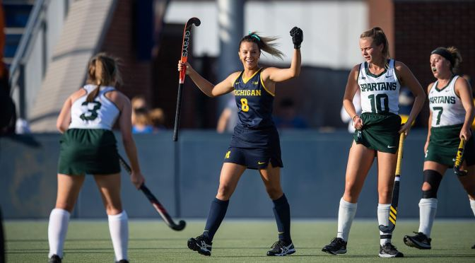 Southam Earns Hat Trick in Wolverine Rout of Michigan State