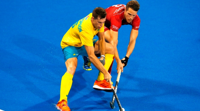 World Champions Top the world rankings with win over the kookaburras.
