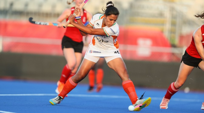 Rani leads India to a 1-0 victory over Great Britain in Auckland