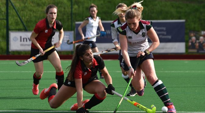 Bowdon fight to maintain England hockey record
